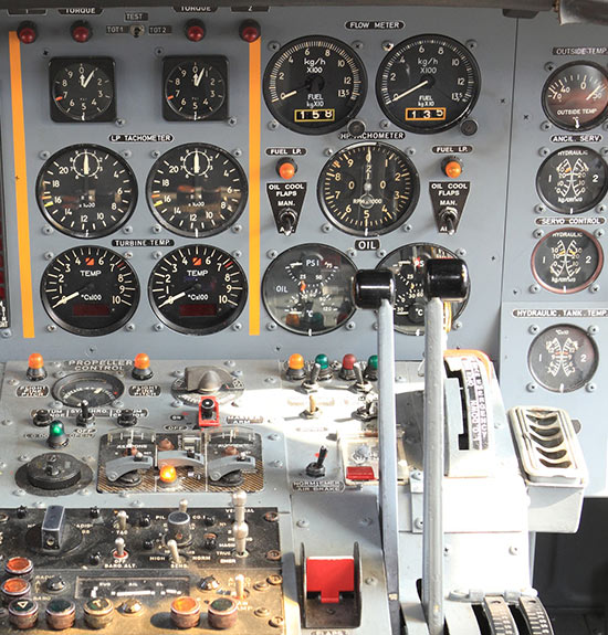 Charriere Management Cockpit